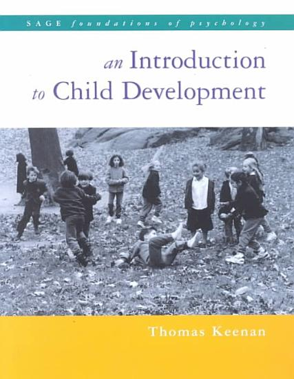 An Introduction to Child Development PDF