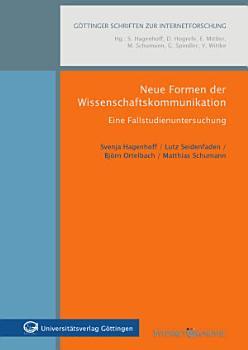 Neue Formen der Wissenschaftskommunikation PDF