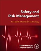 Safety and Risk Management for Health Information Technology PDF