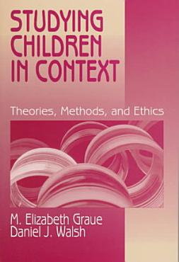 Studying Children in Context PDF