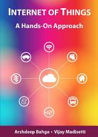 Internet of Things  A Hands On Approach PDF