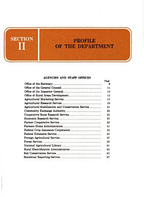 Profiles  Careers in the U S  Department of Agriculture PDF