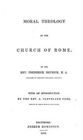 Moral Theology of the Church of Rome