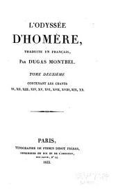 L'Odyssé d'Homère: tr. en français, Volume2