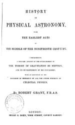History Of Physical Astronomy Book PDF