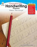 Comprehensive Handwriting Practice: Modern Manuscript, Grades K - 1