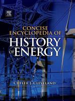Concise Encyclopedia of the History of Energy PDF