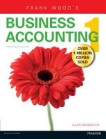 Frank Wood s Business Accounting Volume 1 13th edn PDF eBook PDF