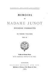 Napoleon: His Court and Family: Memoirs of Madame Junot, Duchesse D'Abrantès, Volume 2, Part 1