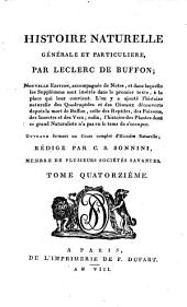 Histoire naturelle, générale et particulière: Volume7;Volume14