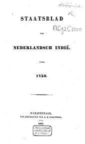 Staatsblad van Nederlandsch Indie