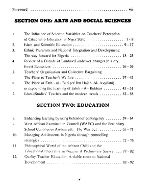 Nigerian Journal of Research in Education PDF