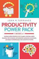 Productivity Power Pack - 4 Books in 1