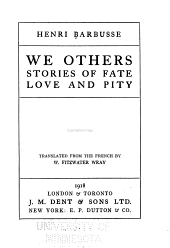We Others: Stories of Fate, Love and Pity