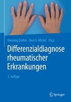 Differenzialdiagnose rheumatischer Erkrankungen PDF