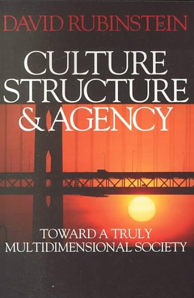 Download Culture  Structure and Agency Book
