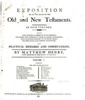 An Exposition of All the Books of the Old and New Testaments: Volume 5