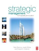 Strategic Management in the International Hospitality and Tourism Industry PDF