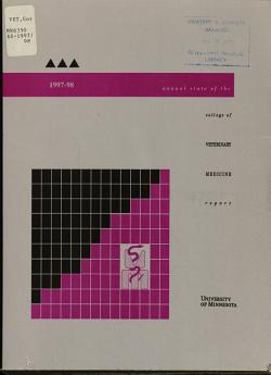 Annual State of the College of Veterinary Medicine Report PDF