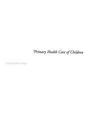 Primary Health Care of Children PDF