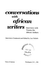 Conversations with African Writers PDF