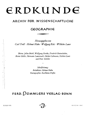 Archive for scientific geography