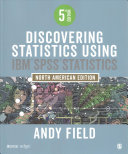 BUNDLE  Field  Discovering Statistics using IBM SPSS Statistics 5e   SPSS 24 Book