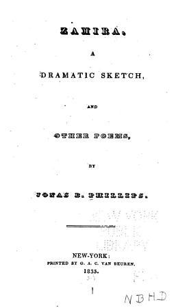 Zamira  a Dramatic Sketch PDF