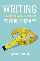 Writing Measurable Outcomes in Psychotherapy PDF