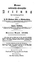 Neue medicinisch chirurgische Zeitung PDF