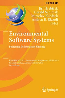 Environmental Software Systems. Fostering Information Sharing