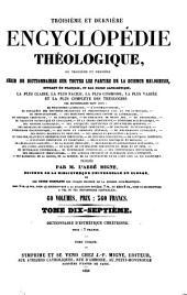 Dictionnaire d'esthétique chrétienne, ou: Théorie du beau dans l'art chrétien