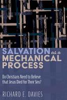 Salvation As a Mechanical Process PDF