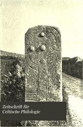 Zeitschrift für Celtische Philologie: Band 1