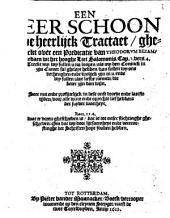 Een seer schoon ende heerlijck tractaet, ghemaeckt over een predicatie van Theodorvm Bezam