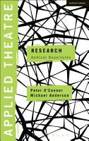 Applied Theatre  Research PDF