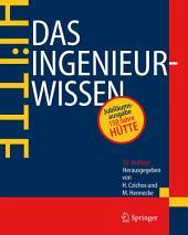 HÜTTE - Das Ingenieurwissen: Ausgabe 33