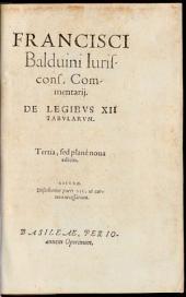 Commentarii de Legibus XII Tabularum