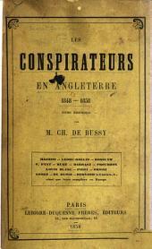 Les conspirateurs en Angleterre, 1848-1858: étude historique