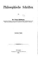 Philosophische schriften PDF