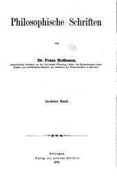 Philosophische schriften: Band 6