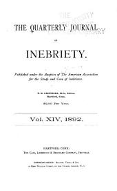 The Journal of Inebriety: Volume 14