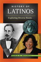 History of Latinos  Exploring Diverse Roots PDF