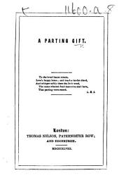 A Parting Gift. [A verse anthology.]