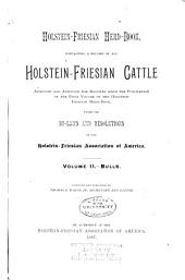 Holstein-Friesian Herd-book: Volume 2, Part 1