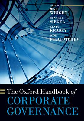 The Oxford Handbook of Corporate Governance PDF