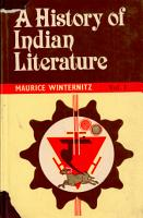 A History of Indian Literature PDF