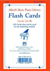 Alfred's Basic Piano Library: Flash Cards, Levels 1A and 1B