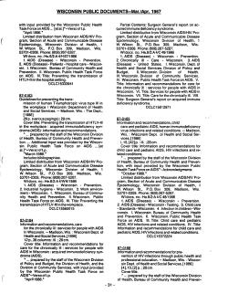 Wisconsin Public Documents PDF