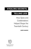 Stealing Secrets  Telling Lies PDF